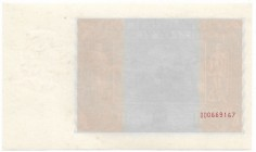 II Republic of Poland, 20 zloty 1931 - unfinished, only reverse