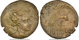 CIMMARIAN BOSPORUS. Phanagoria. 2nd-1st centuries BC. AE (22mm, 12h). NGC VF. Issues of Mithrates VI Eupator in the name of individual cities, Ca. 105...