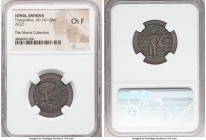 IONIA. Smyrna. Tranquillina (AD 241-244). AE diassarion (22mm, 6h). NGC Choice Fine. ΦΟΥΡ ΤΡΑΝΚΥΛΛЄΙΝΑ Ϲ, draped bust of Tranquillina right, seen from...