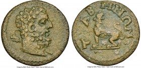 CARIA. Tabae. Autonomous issues, time of Valerian I and Gallienus (AD 253-268). AE (20mm, 12h). NGC XF. Bare head of Hercules right, club over left sh...