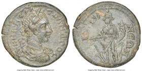 PISIDIA. Conana. Severus Alexander (AD 222-235). AE (21mm, 5h). NGC Choice XF, light scratches. AV K M AV CЄ AΛ-ЄΞANΔPOC, laureate, draped and cuirass...