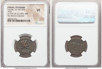 PISIDIA. Tityassus. Plautilla (AD 202-205). AE (22mm, 1h). NGC VF. ΦΟVΛ ΠΛ-ΑVΤΙΛΛΑ CΕΒΑ, draped bust of Plautilla right, seen from front, hair braided...