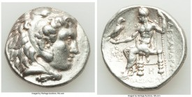 MACEDONIAN KINGDOM. Alexander III the Great (336-323 BC). AR tetradrachm (27mm, 17.06 gm, 10h). VF. Posthumous issue of Babylon, under Seleucus I Nica...