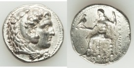 MACEDONIAN KINGDOM. Alexander III the Great (336-323 BC). AR tetradrachm (26mm, 16.81 gm, 3h). Choice VF, lamination. Early posthumous issue of 'Babyl...