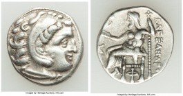 MACEDONIAN KINGDOM. Alexander III the Great (336-323 BC). AR drachm (18mm, 4.15 gm, 12h). Choice VF. Late lifetime-early posthumous issue of Sardes, c...