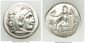 MACEDONIAN KINGDOM. Alexander III the Great (336-323 BC). AR drachm (18mm, 4.29, 12h). VF Late lifetime-early posthumous issue of 'Colophon', ca. 323-...