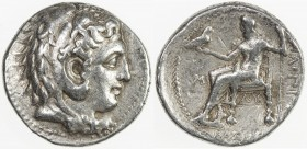 MACEDONIAN KINGDOM: Philip III Arrhidaios, 323-317 BC, AR tetradrachm (17.17g), Babylon, Price-P181, struck under Archon, Dokimos, or Seleukos I, head...