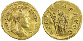 "ROMAN EMPIRE: Gordian III, 238-244 AD, AV imitative aureus (4.72g), ""Rome"", RIC-—, IMP CAES M ANT GORDIVS (sic) AVG, laureate, draped and cuirassed bu..."