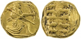 "ACHAEMENID EMPIRE: Anonymous, 4th century BC, AR ""daric"" (8.28g), late 19th or first half of the 20th century fantasy imitation in fine gold: great ki..."