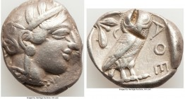 CARIAN ISLANDS. Rhodes. Ca. 84-30 BC. AR drachm (20mm, 4.15 gm, 1h). Choice VF. Radiate head of Helios facing, turned slightly right, hair parted in c...