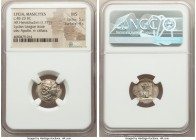 LYCIAN LEAGUE. Masicytes. Ca. 48-20 BC. AR hemidrachm (15mm, 1.77 gm, 12h). NGC MS 5/5 - 4/5. Series 1. Laureate head of Apollo right; Λ-Y below / M-A...