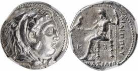MACEDON. Kingdom of Macedon. Philip III, 323-317 B.C. AR Tetradrachm (17.12 gms), Babylon Mint, Struck under Archon, Dokimos, or Seleukos I, ca. 323-3...
