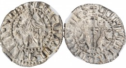 ARMENIA. Tram, ND (1198-1219). Sis Mint. Levon I. NGC MS-65.