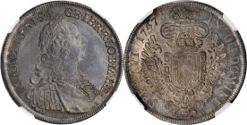 AUSTRIA. 1/2 Taler, 1747-WI. Vienna Mint. Franz I. NGC MS-63.