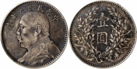 CHINA. Dollar, Year 9 (1920). PCGS EF-40 Gold Shield.