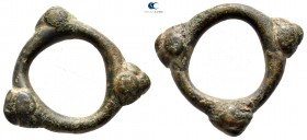 Eastern & Central Europe.  circa 600-100 BC. Ring Money Æ