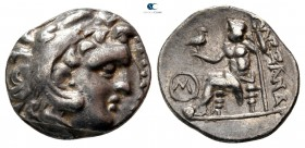 Eastern Europe. Imitations of Alexander III of Macedon  300-150 BC. Drachm AR