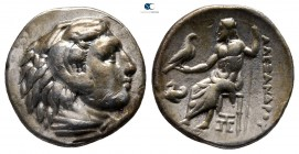 "Kings of Macedon. Abydos. Alexander III ""the Great"" 336-323 BC. Struck under Kalas or Demarchos, circa 325-323 BC. Drachm AR"