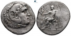 "Kings of Macedon. Aspendos. Alexander III ""the Great"" 336-323 BC. Dated CY 21 = 192/1 BC. Tetradrachm AR"