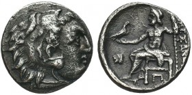 Greek, Kings of Macedon, Alexander III the Great 336-232 BC, AR Drachm,   Condition: Very Fine  Weight: 3.68 gr Diameter: 16 mm