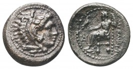 Greek, Kings of Macedon, Alexander III the Great 336-232 BC, AR Drachm,   Condition: Very Fine  Weight: 4.10 gr Diameter: 18 mm