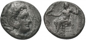 Greek, Kings of Macedon, Alexander III the Great 336-232 BC, AR c. 310-301 BC 1/2 Drachm  Condition: Very Fine  Weight: 1.97 gr Diameter: 12 mm