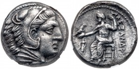 Macedonian Kingdom. Alexander III 'the Great'. Silver Tetradrachm (16.55 g), 336-323 BC