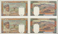 Country : ALGERIA  Face Value : 100 Francs Consécutifs  Date : 20 juillet 1945  Period/Province/Bank : Banque de l'Algérie  Catalogue reference : P.85...