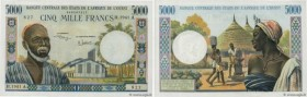 Country : WEST AFRICAN STATES  Face Value : 5000 Francs  Date : (1975)  Period/Province/Bank : B.C.E.A.O.  Department : Côte d'Ivoire  Catalogue refer...
