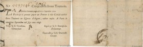 Country : FRANCE  Face Value : 50 Livres Tournois typographié  Date : 02 septembre 1720  Period/Province/Bank : Banque de Law  Catalogue reference : D...