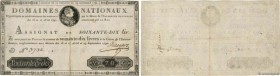 Country : FRANCE  Face Value : 70 Livres  Date : 29 septembre 1790  Period/Province/Bank : Assignats  Catalogue reference : Ass.06a  Additional refere...