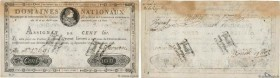 Country : FRANCE  Face Value : 100 Livres Faux  Date : 19 juin 1791  Period/Province/Bank : Assignats  Catalogue reference : Ass.15b  Additional refer...