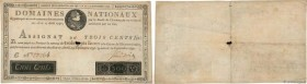 Country : FRANCE  Face Value : 300 Livres Faux  Date : 12 septembre 1791  Period/Province/Bank : Assignats  Catalogue reference : Ass.18x  Additional ...