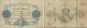 Country : FRANCE  Face Value : 20 Francs type 1871  Date : 14 décembre 1872  Period/Province/Bank : Banque de France, XIXe siècle  Catalogue reference...