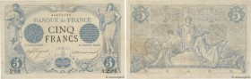Country : FRANCE  Face Value : 5 Francs NOIR  Date : 16 mai 1873  Period/Province/Bank : Banque de France, XXe siècle  Catalogue reference : F.01.18  ...
