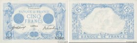 Country : FRANCE  Face Value : 5 Francs BLEU  Date : 23 avril 1915  Period/Province/Bank : Banque de France, XXe siècle  Catalogue reference : F.02.26...