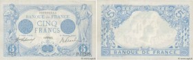 Country : FRANCE  Face Value : 5 Francs BLEU  Date : 06 avril 1916  Period/Province/Bank : Banque de France, XXe siècle  Catalogue reference : F.02.38...
