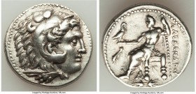 MACEDONIAN KINGDOM. Alexander III the Great (336-323 BC). AR tetradrachm (27mm, 17.13 gm, 11h). XF. Posthumous issue of uncertain Greece of Macedonia,...