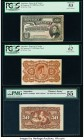 Argentina Banco de la Nacion Argentina 50 Centavos 19.7.1895 Pick 230p Face and Back Proofs PCGS About New 53; New 62. Argentina Banco de la Nacion Ar...