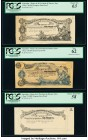 Argentina Provincia de Buenos Aires 1 Peso 7.8.1891 Pick S573p Progress Face Proofs; Progress Back Proofs; Essay Face Proof PCGS About New 53; Choice ...