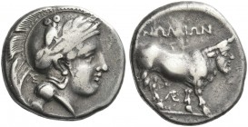 Nola. Didrachm. Very rare.