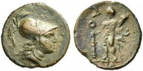 Uxentum. Bronze. Rare