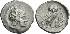 Tarentum. Drachm.