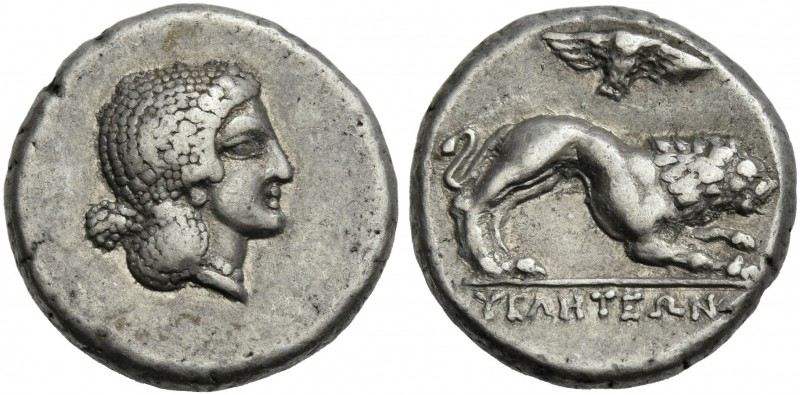 Lucania, Velia.