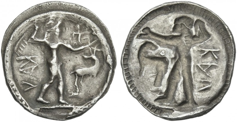 Bruttium, Caulonia. 