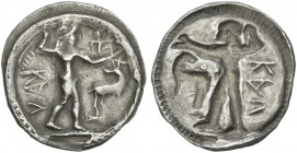 Caulonia. Drachm. A very rare denomination.