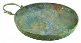 A bronze Etruscan bowl
