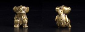 A Pre-Columbian monkey figure