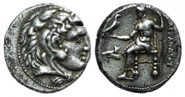 Kings of Macedon, Alexander III 'the Great' (336-323 BC). AR Tetradrachm (25mm, 17.02g, 6h). Uncertain Syrian or Phoenician mint, 317-300 BC. Head of ...