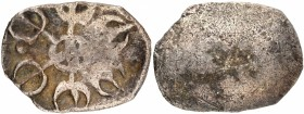 Punch Marked Silver Shana Coin of Gandhara Janapada.